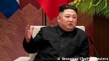 Nordkorea Kim Jong Un | feuert ballistische Kurzstreckenraketen