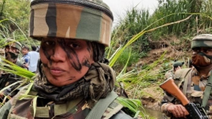 Indien Frauen-Sicherheitspersonal