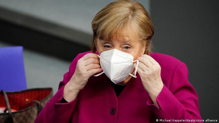 Angela Merkel în Bundestag