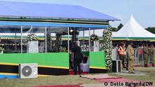 Tansania Chato Distrikt | Trauer um Präsident John Magufuli