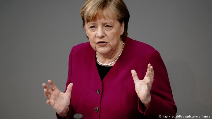 Deutschland | Bundestag | Angela Merkel gibt Regierungserklärung ab