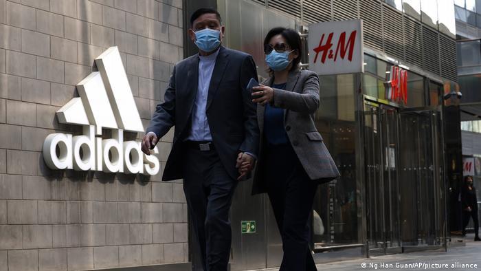 China Kampagne gegen westliche Mode- und Sportfirmen