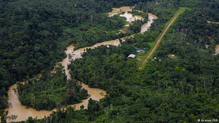 Brasilien Bergbau im indigenen Territorium der Yanomami