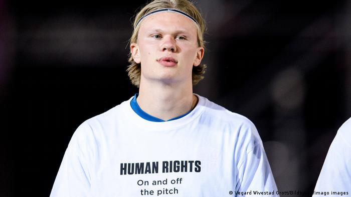 Erling Braut Haaland of Norway ahead of the FIFA World Cup WM