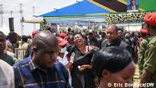 Tansania Abschiedszeremonie Präsidenten John Magufuli im Bezirk Chato