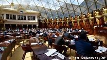 Nordmazedonien Parlament - Sitzung am 25.03.2021