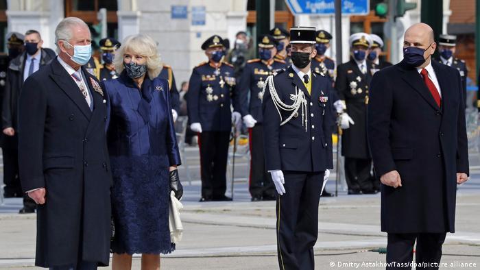 Yunanistan'ın 200. Bağımsızlık Günü kutlamalarına Prens Charles (sol başta) ve Rusya Başbakanı Mihail Mişustin de (sağ başta) katıldı