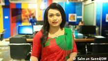 Bangladesh's first transgender news anchor Tashnuva Anan Shishir Key words: Tashnuva Anan Shishir, transgender, lgbtqi, bangladesh, news, anchor Copyright: Salman Saeed/DW Photo date: 25.03.2021 Location: Bangladesh Photo Caption: Bangladesh's first transgender news anchor Tashnuva Anan Shishir thinks that many people of her country have misperceptions about the LGBTQI+ community.
