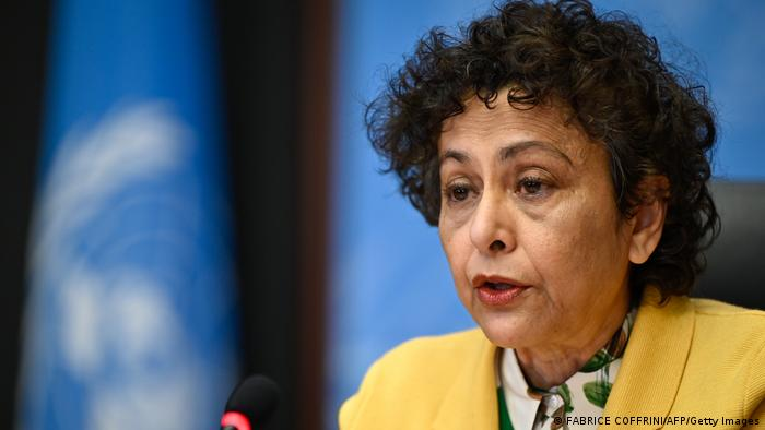 Switzerland, Irene Kahn, UN Rapporteur on Promotion of Freedom of Expression