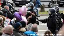 Demonstration gegen Corona-Einschränkungen - Kassel