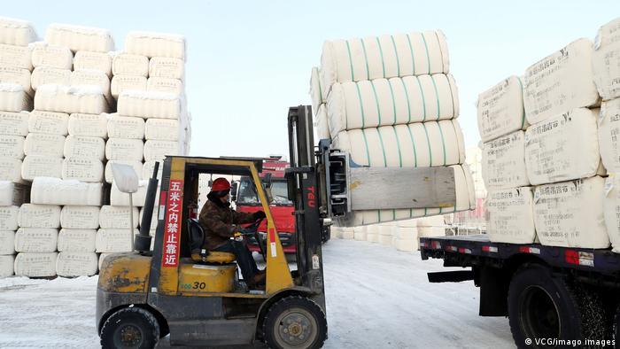 Trabajador en China.