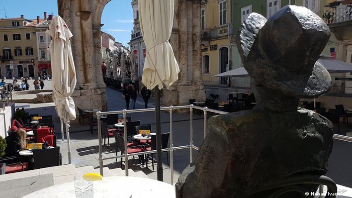 Kroatien Istrien | Tourismus | Cafe Terassen