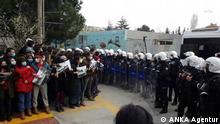 Türkei | Studenten-Demo an der Bogazici Universität in Istanbul