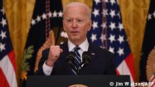 USA Joe Biden | Erste PK im Weißen Haus