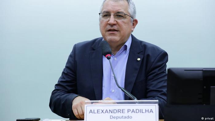O deputado e ex-ministro da Saúde Alexandre Padilha (PT-SP)