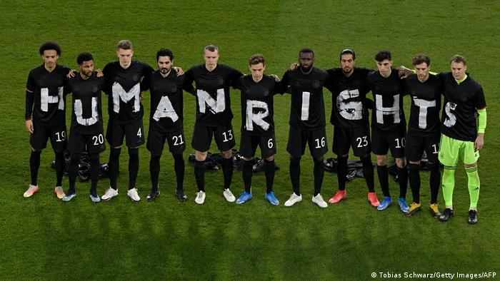 Сборная Германии перед матчем с Исландией 25 марта 2021 года