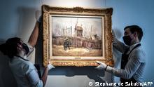Frankreich Van Gogh Scene de rue a Montmartre Sotheby's