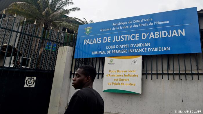 Elfenbeinküste Abidjan Gerichtsgebäude
