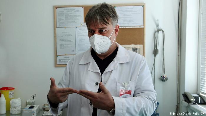 Serbien Nis | Impfung der Universitätsstudenten