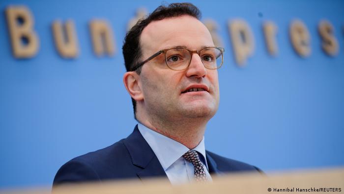Berlin PK Gesundheitsminister Jens Spahn