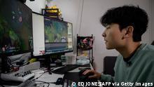 Südkorea Gamer Kim Min-kyo Streaming