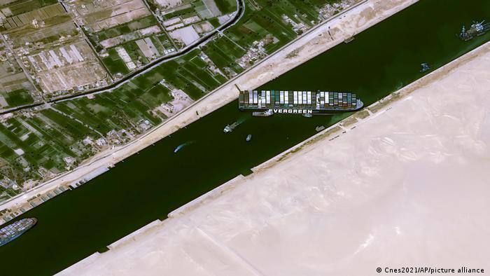Weltspiegel | 26.03.2021 | Suez Kanal | Tableau
