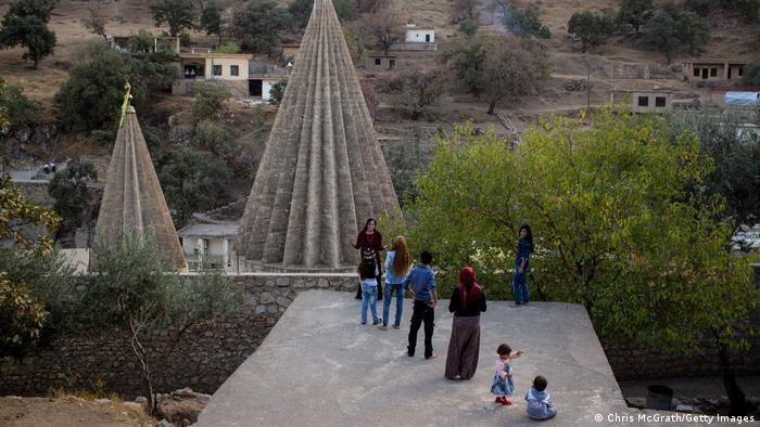 Irak Jesiden Lalish Tempel Sinjar