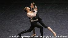 Russland | Moskau | Ballettaufführung Orlando von Christian Spuk
