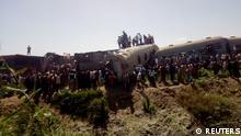 Ägypten Zugunglück Sohag
