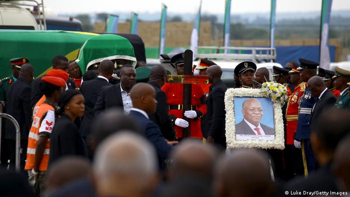 Tansania   Trauer   Beisetzung ehemaliger Präsident Joseph Magufuli