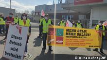 Deutschland DGB-Protest in Gütersloh