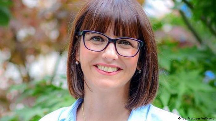 Ida Protuger- Veljkovic   DW Kolumnistin   Journalistin
