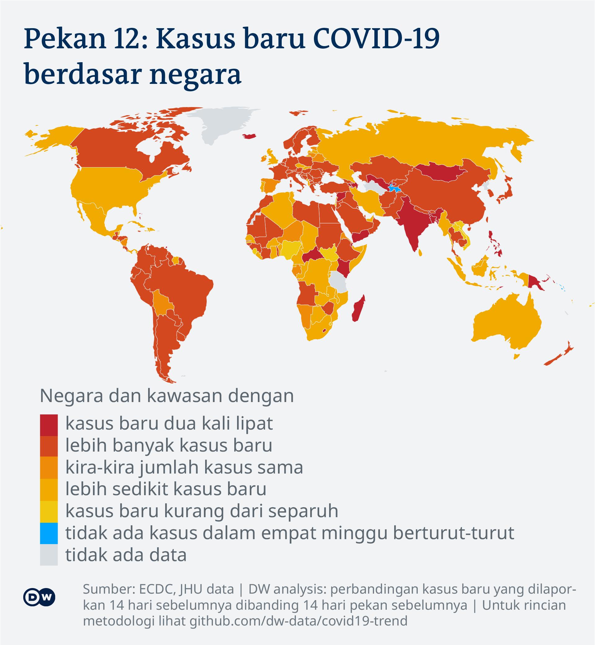 Bersiap Hadapi Pandemi Berikutnya, Pemimpin Dunia Serukan Perjanjian Internasional | DUNIA: Informasi terkini dari berbagai penjuru dunia | DW | 30.03.2021
