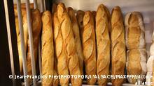 صورة من الأرشيف لخبز باغيت