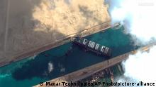 Ägypten | Suezkanal blockiert | Containerschiff Ever Given