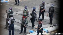 Myanmar Sicherheitskräfte