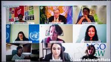 Virtuelles Townhall Meeting zu Frauenrechten