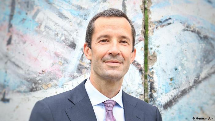 Deutschlands stellvertretender Ständiger Vertreter bei den UN, Günter Sautter,