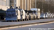 Belarus Minsk | Polizei will Proteste unterbinden