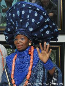 Galeristin Oyenike Monica Okunaye: Wir Künstler müssen neue Dinge erfinden!