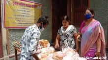Indien Kalkutta  Protest von Sexarbeitern