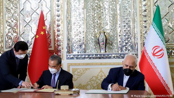 Tighter China-Iran Embrace