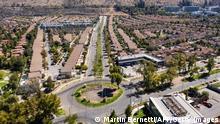 Chile Santiago   Coronavirus   Lockdown, leere Straßen