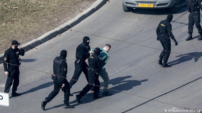 Weißrussland | Proteste und Festnahmen in Minsk