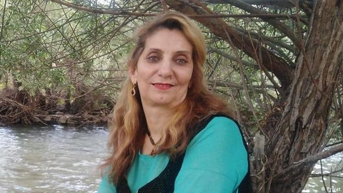 پروین ذبیحی، کنشگر حقوق زنان و فعال حوزه خطرات مین در مریوان