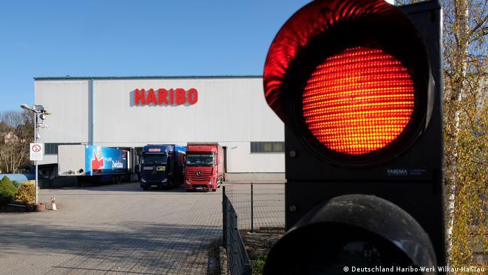 Ulaz u tvornicu Haribo