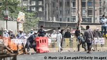 Bangladesch Narayanganj, Nähe Dhaka | Anlass Besuch Narendra Modi | Unruhen und Gewalt
