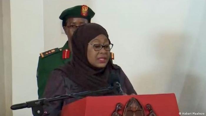 Tansania Dodoma | Präsidentin Samia Suluhu Hassan