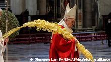 Messe im Vatikan - Palmsonntag | Papst Franziskus