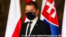 Polen Krakau Treffen der Visegard Group |Igor Matovic, Premierminister Slowakei